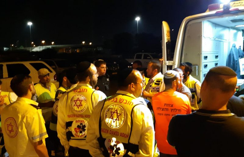 מתנדבים וכוחות משטרה חיפשו ביום א' אחר נעדרת